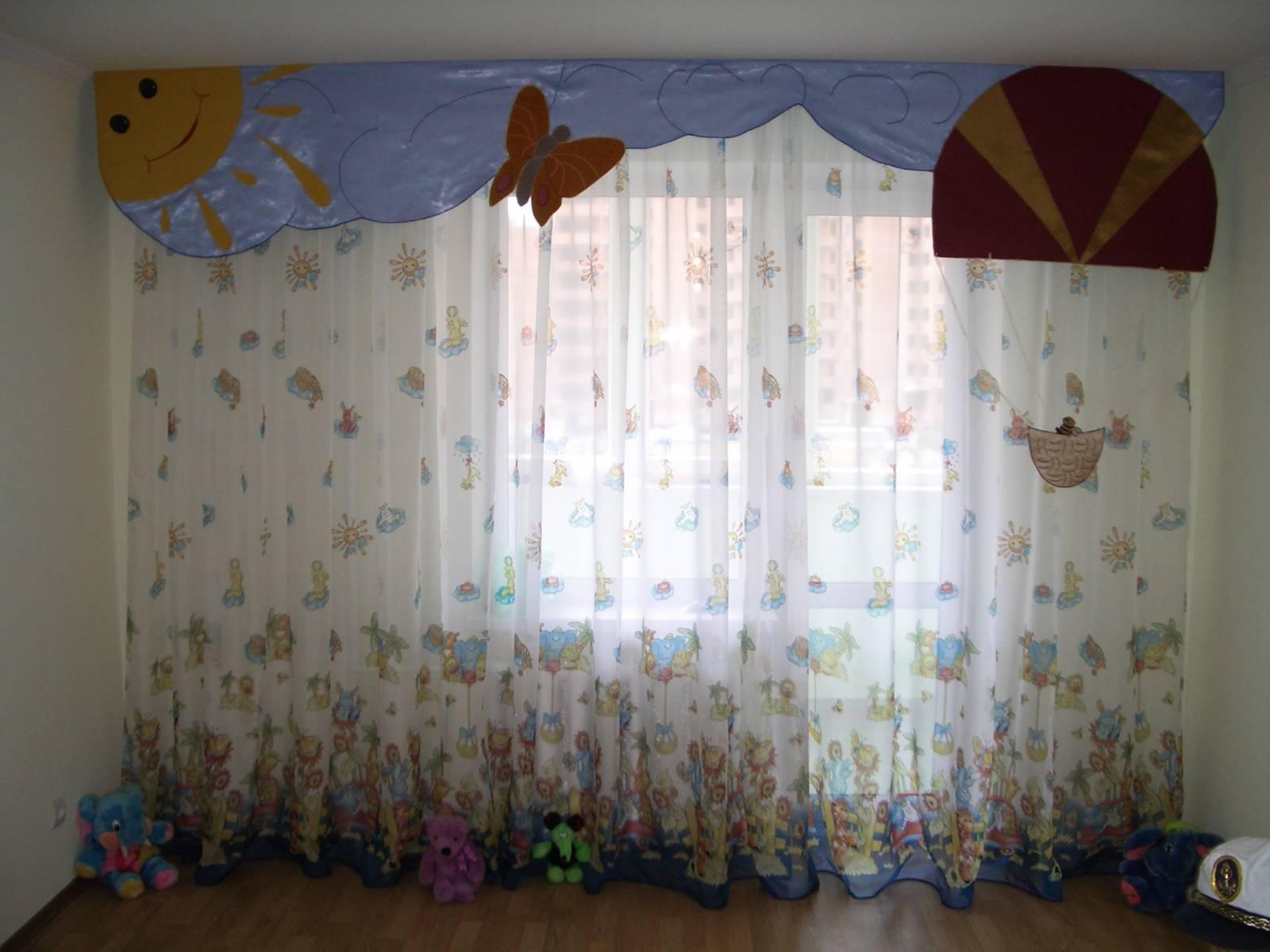 Штори для дитячої кімнати фото